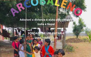 Azione umanitaria fondazione arcobaleno